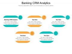 Banking CRM Analytics Ppt PowerPoint Presentation Slides Aids Cpb Pdf