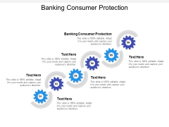 Banking Consumer Protection Ppt PowerPoint Presentation Inspiration Topics Cpb