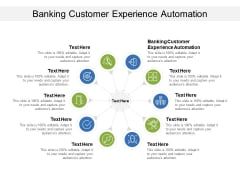 Banking Customer Experience Automations Ppt PowerPoint Presentation Outline Deck Cpb