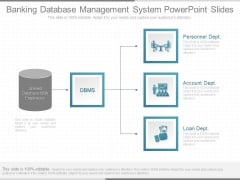 Banking Database Management System Powerpoint Slides