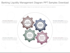 Banking Liquidity Management Diagram Ppt Samples Download