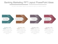 Banking Marketing Ppt Layout Powerpoint Ideas