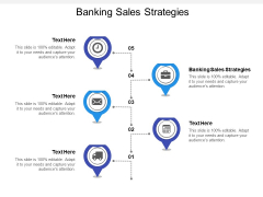 Banking Sales Strategies Ppt PowerPoint Presentation Icon Brochure Cpb