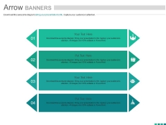 Banners For Income Statement And Balance Sheet Powerpoint Template