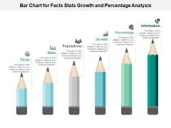 Bar Chart For Facts Stats Growth And Percentage Analysis Ppt PowerPoint Presentation Styles Infographic Template