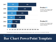 Bar Chart Free PowerPoint Slide