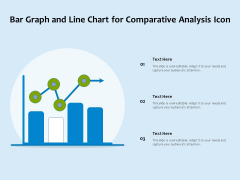 Bar Graph And Line Chart For Comparative Analysis Icon Ppt PowerPoint Presentation Gallery Infographics PDF