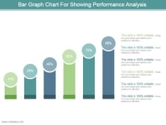 Bar Graph Chart For Showing Performance Analysis Ppt Design