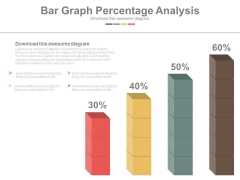 Bar Graph Displaying Profit Growth Powerpoint Slides
