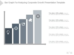 Bar Graph For Analyzing Corporate Growth Ppt PowerPoint Presentation Ideas