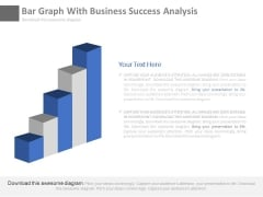 Bar Graph For Marketing Research Process Powerpoint Slides
