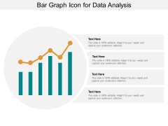 Bar Graph Icon For Data Analysis Ppt PowerPoint Presentation Pictures Ideas