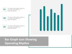 Bar Graph Icon Showing Operating Rhythm Ppt Powerpoint Presentation Ideas Templates
