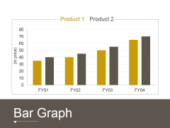 Bar Graph Ppt PowerPoint Presentation File Show