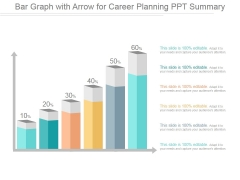Bar Graph With Arrow For Career Planning Ppt PowerPoint Presentation Gallery