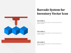 Barcode System For Inventory Vector Icon Ppt PowerPoint Presentation Gallery Slide Portrait PDF