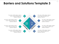 Barriers And Solutions Technology Ppt PowerPoint Presentation Professional Files