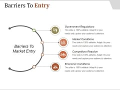 Barriers To Entry Ppt PowerPoint Presentation Styles