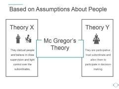 Based On Assumptions About People Ppt PowerPoint Presentation Inspiration