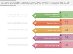 Baseline Competitive Benchmarking Powerpoint Templates Microsoft
