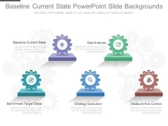 Baseline Current State Powerpoint Slide Backgrounds