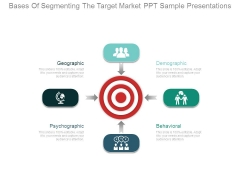 Bases Of Segmenting The Target Market Ppt Sample Presentations