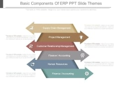 Basic Components Of Erp Ppt Slide Themes