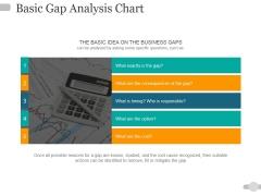 Basic Gap Analysis Chart Ppt PowerPoint Presentation Pictures Design Ideas