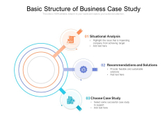Basic Structure Of Business Case Study Ppt PowerPoint Presentation Gallery Graphics Tutorials PDF