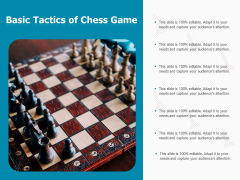 Basic Tactics Of Chess Game Ppt PowerPoint Presentation File Templates PDF