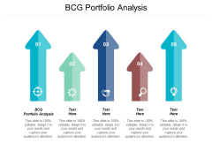 Bcg Portfolio Analysis Ppt Powerpoint Presentation Layouts Themes Cpb