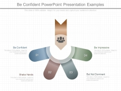 Be Confident Powerpoint Presentation Examples