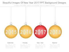 Beautiful Images Of New Year 2017 Ppt Background Designs