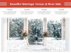 Beautiful Marriage Venue At River Side Ppt PowerPoint Presentation File Ideas PDF