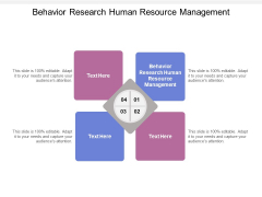 Behavior Research Human Resource Management Ppt PowerPoint Presentation Outline Graphics Design Cpb