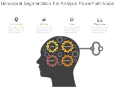 Behavioral Segmentation For Analysis Powerpoint Ideas