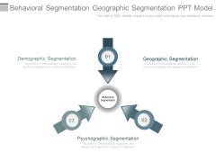 Behavioral Segmentation Geographic Segmentation Ppt Model