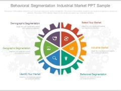 Behavioral Segmentation Industrial Market Ppt Sample
