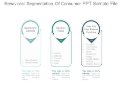 Behavioral Segmentation Of Consumer Ppt Sample File