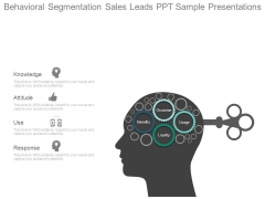 Behavioral Segmentation Sales Leads Ppt Sample Presentations