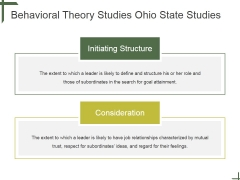 Behavioral Theory Studies Ohio State Studies Ppt PowerPoint Presentation Picture