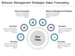 Behaviour Management Strategies Sales Forecasting Ppt PowerPoint Presentation Professional Themes