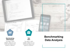 Benchmarking Data Analysis Ppt PowerPoint Presentation Summary Themes Cpb Pdf
