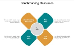 Benchmarking Resources Ppt PowerPoint Presentation Ideas Tips Cpb