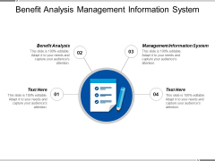 Benefit Analysis Management Information System Ppt PowerPoint Presentation Show