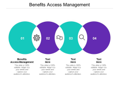 Benefits Access Management Ppt PowerPoint Presentation Professional Smartart Cpb
