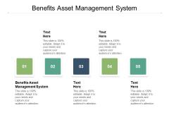Benefits Asset Management System Ppt PowerPoint Presentation Summary Maker Cpb