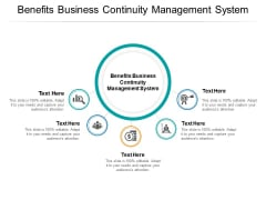 Benefits Business Continuity Management System Ppt PowerPoint Presentation Professional Guide Cpb Pdf