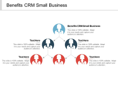 Benefits CRM Small Business Ppt PowerPoint Presentation Show Design Inspiration Cpb