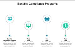 Benefits Compliance Programs Ppt PowerPoint Presentation Ideas Designs Cpb